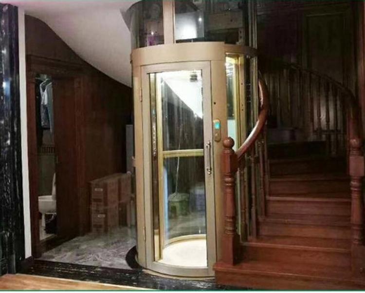 螺杆式液压家用电梯